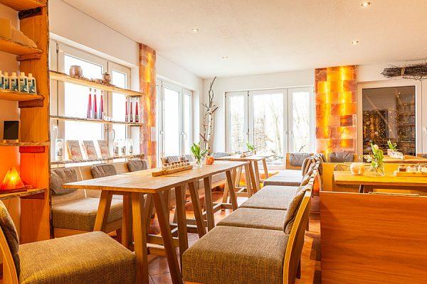 """Café """"Salzstube"""" der Salzmanufaktur MV in Trinwillershagen"""