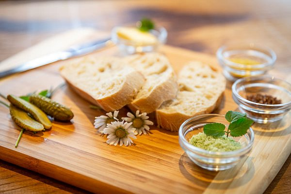 Essen gehen im Café der Salzmanufaktur Mecklenburg-Vorpommern in Trinwillershagen