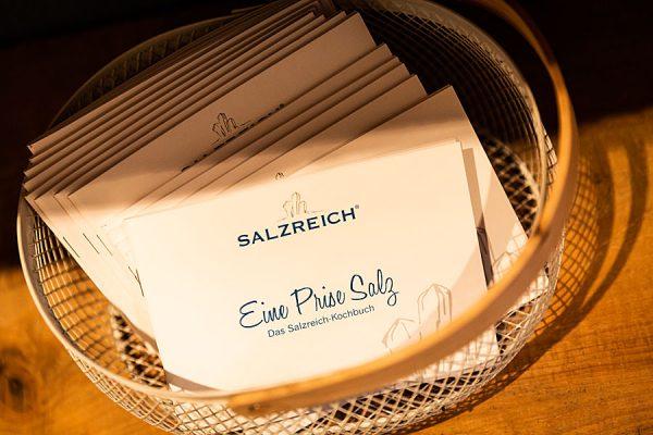 Eine Prise Salz – Kochbuch von Salzreich in Trinwillershagen