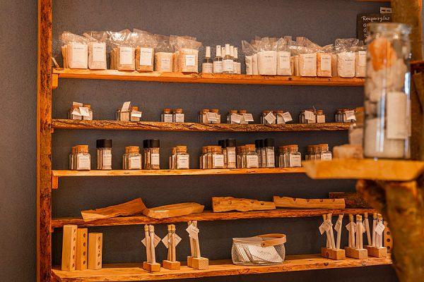 Produkte im Shop der Salzmanufaktur MV in Trinwillershagen