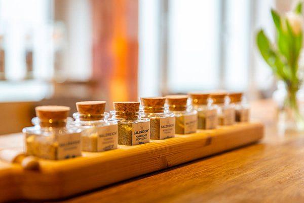 Salzspezialiäten kaufen in der Salzmanufaktur MV in Trinwillershagen